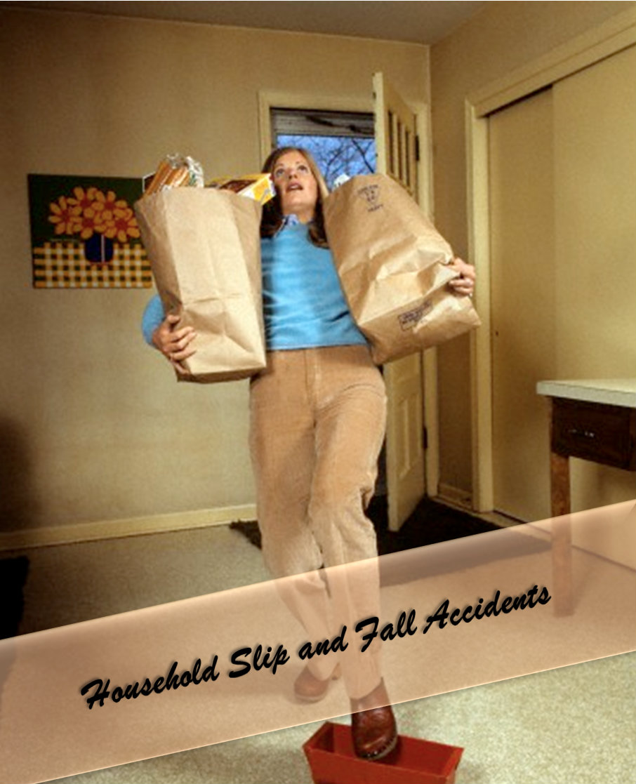 Common Household Slip and Fall Accidents You Should Be Aware Of